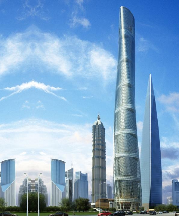 ប៉មនៃទីក្រុងសៀវហៃ (Shanghai Tower)