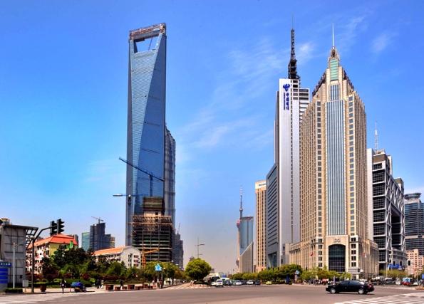មជ្ឈមណ្ឌលហិរញ្ញវត្ថុពិភពលោកនៃទីក្រុងសៀងហៃ (Shanghai World Financial Center)
