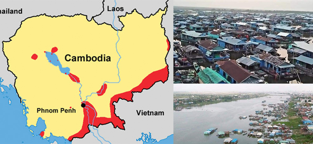 Vietnamese people living in Cambodia